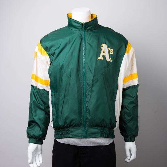 Starter Jackets Coats Oakland Athletics Windbreaker Poshmark